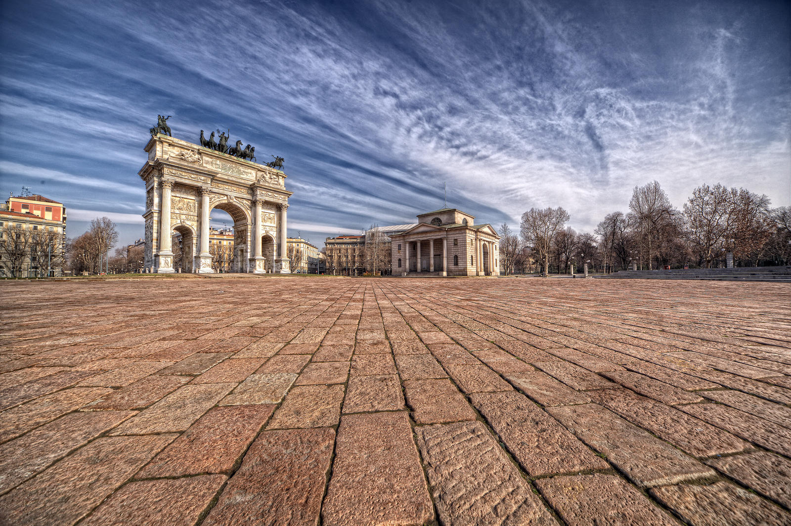 Arco Italy  city pictures gallery : ARCO DELLA PACE MILANO ITALY by zefirino on DeviantArt