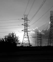 Power lines by timrob22
