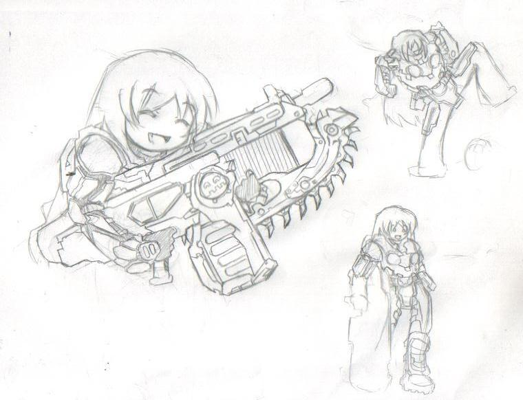 Gear Drawings Gears of War Symbol Drawings