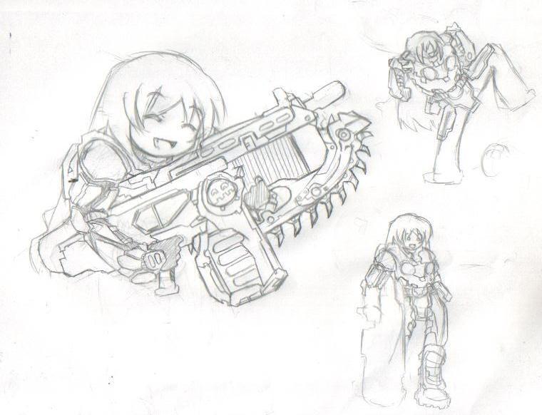 Gears Of War Tsuruya By Commissar Nyoron On Deviantart
