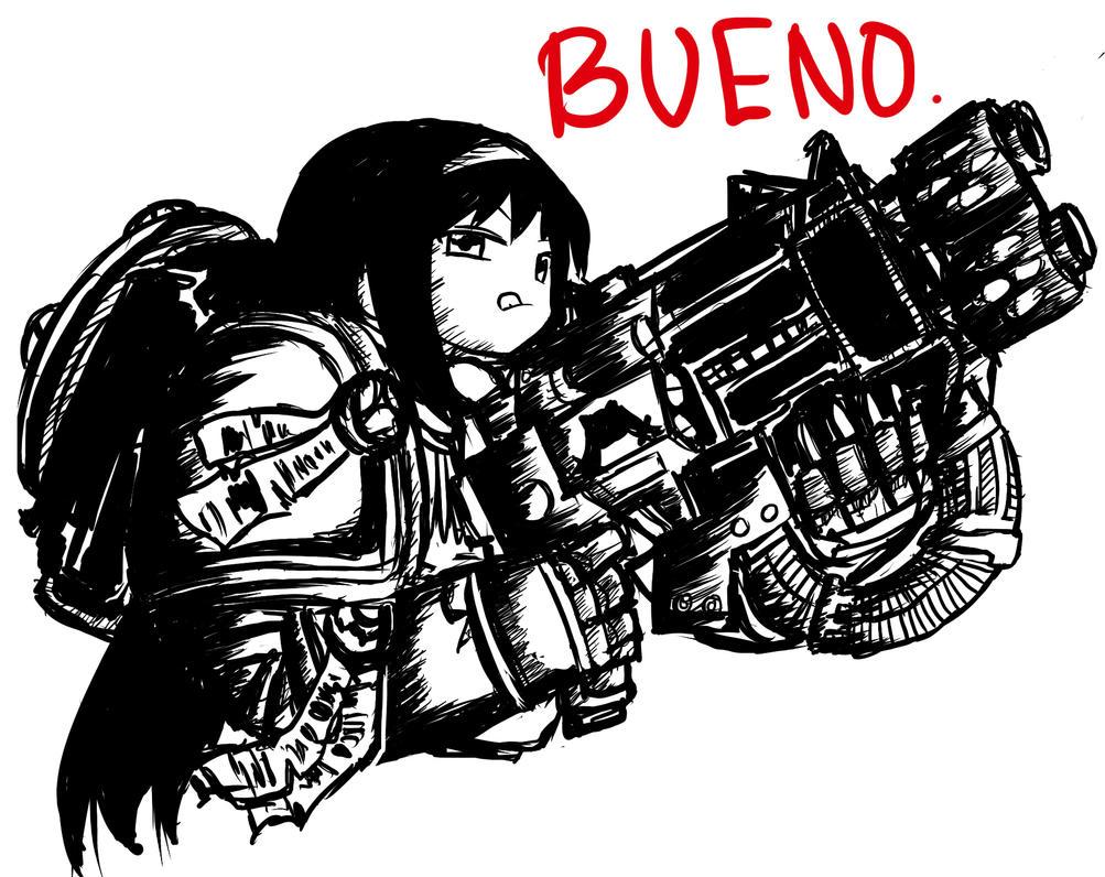 BUENO by COMMISSAR-NYORON