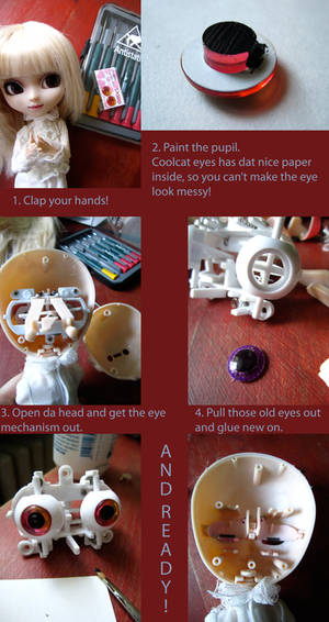 Pullip eye tutorial