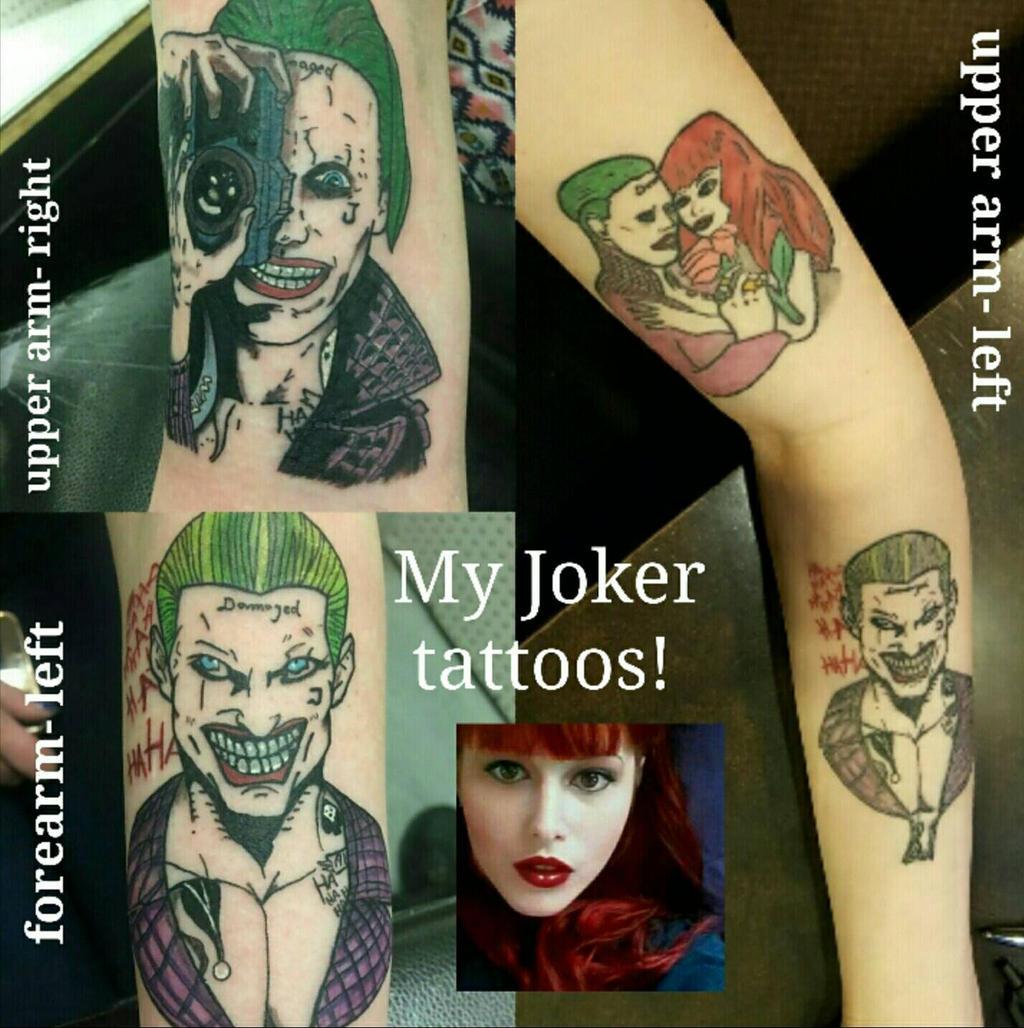 my joker tattoos