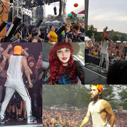 I met jared leto! I was on stage with him