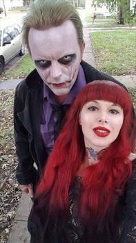 real life joker my husband, jeremy putman
