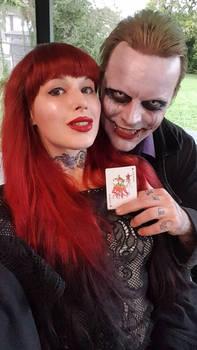 real life joker jeremy putman, my husband