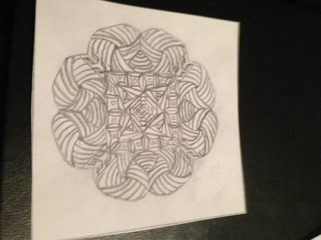Mini Mandala by crystal-of-ix