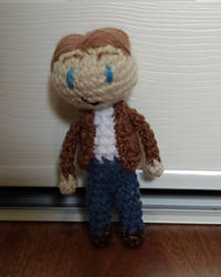 Steve Rogers Amigurumi by crystal-of-ix