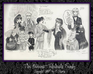 The Takahashi-Addams Family by M-Skirvin