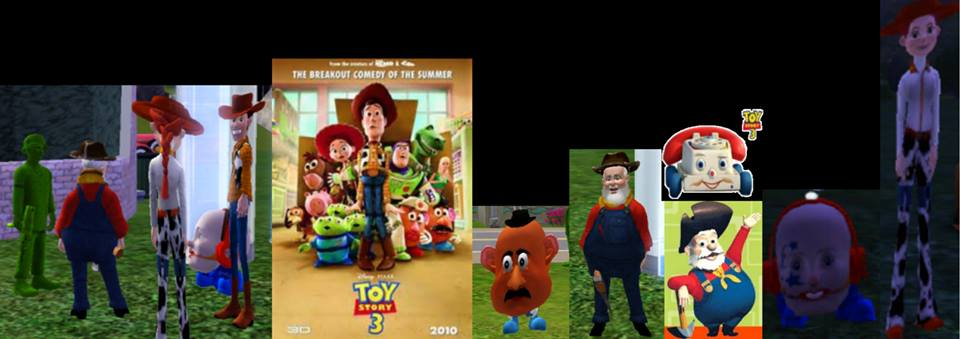 Toy Story characters by Alberta360