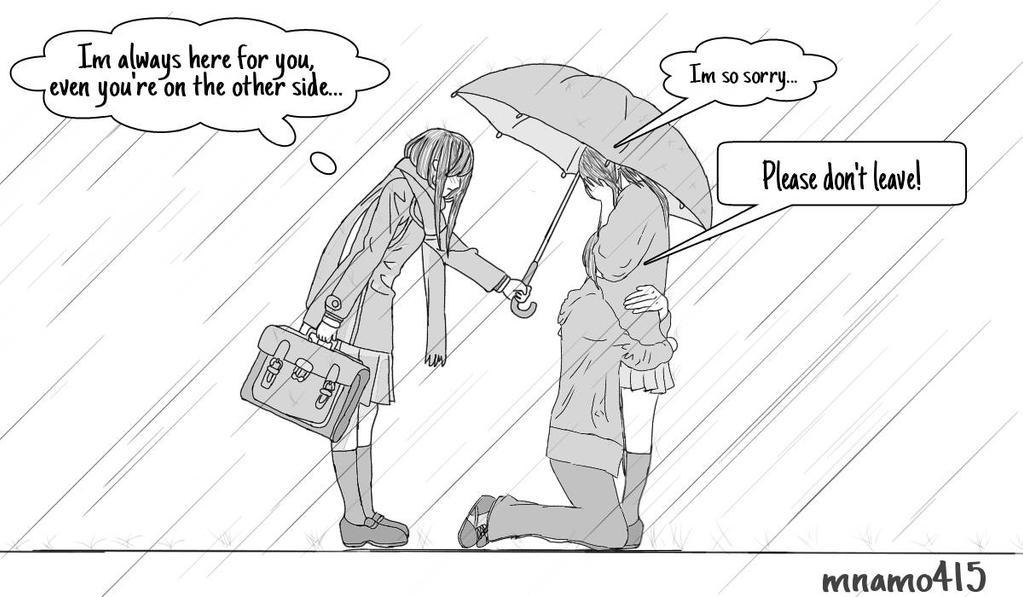 In the Rain... by mnamo415