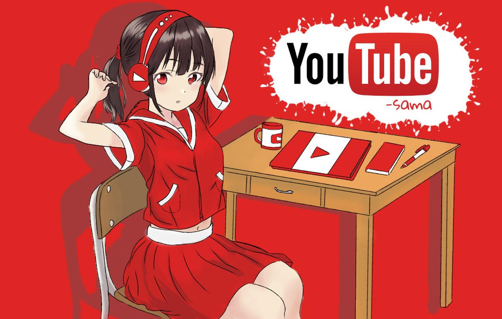 Youtube-sama by mnamo415