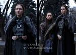 Sansa and Arya Stark - Game of Thrones - Cosplay by IvyHale