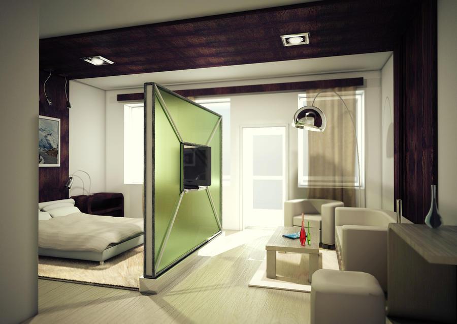 Hotel Bedroom design 2 by yourPorcelainDoll