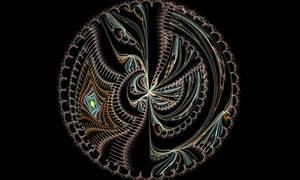 Spiked disc fractal
