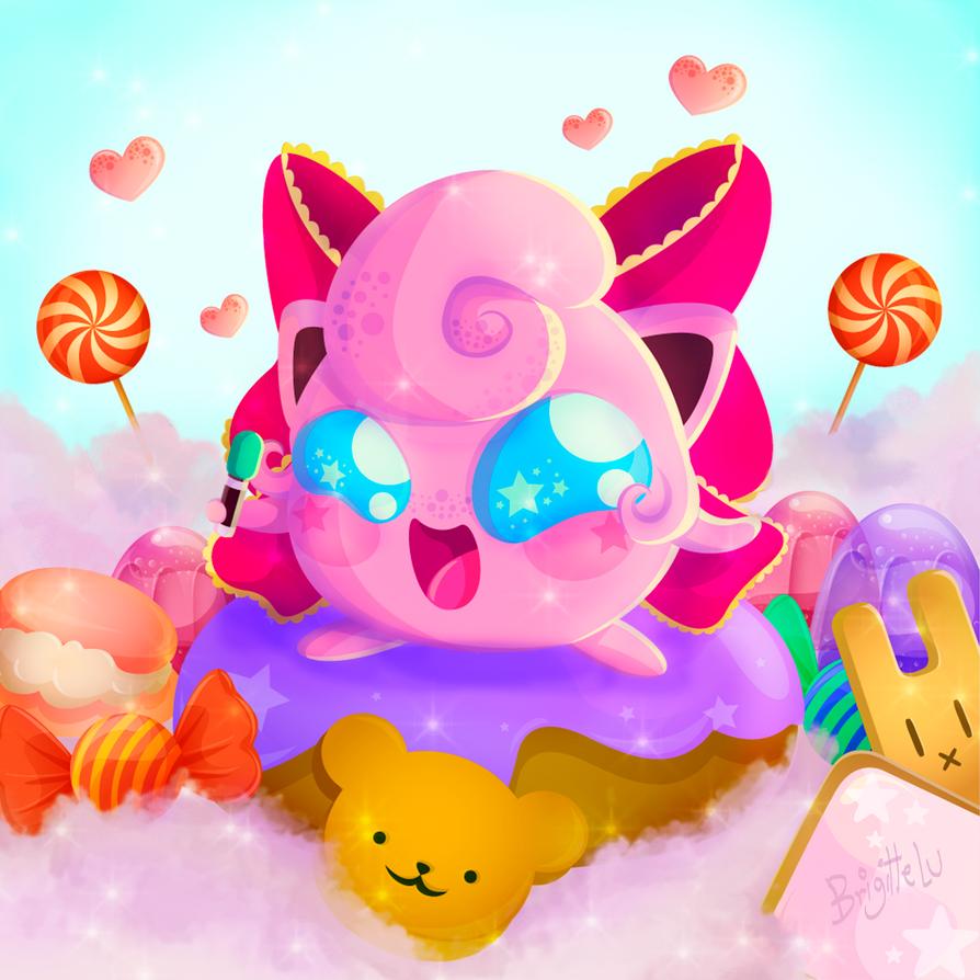 039 Jigglypuff Pokedex Project Peru By Belu Cute On