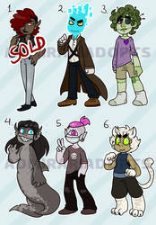 humanoid adopts 5/6 (points/paypal)