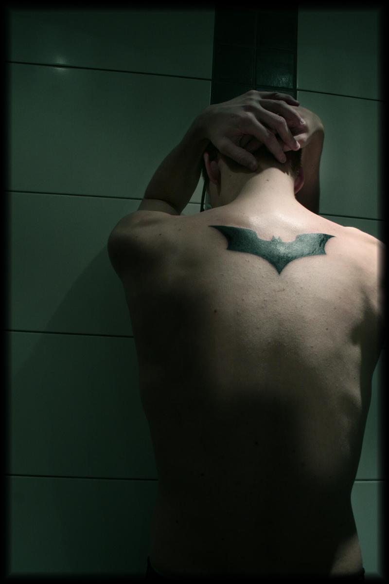 Batman Logo Tattoos Tattoo batman by nioxterBatman Logo Tattoos For Men
