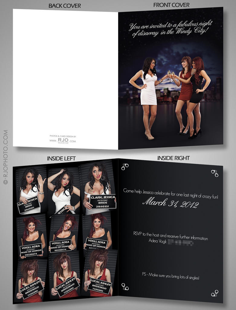 Bachelorette Party Invite by rekit