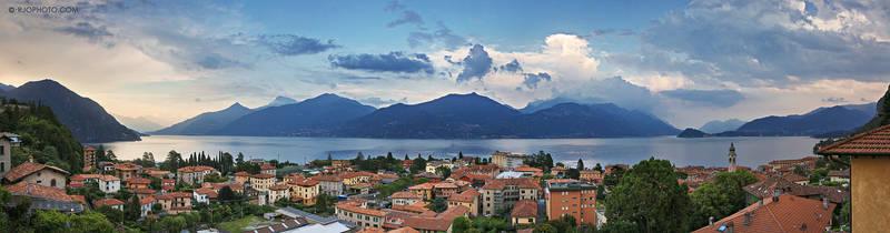 Lake Como view from Menaggio, Italy