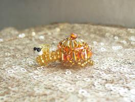 Jewelsnail - Mandarin garnet by TrinaElaine
