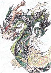 [Fantasy] Harmony Dragon by GilgaPhoenixIgnis