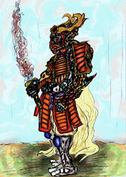 [Fantasy] War Kami by GilgaPhoenixIgnis