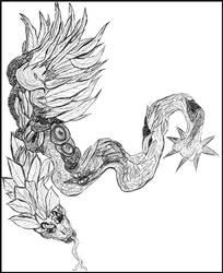 [Fantasy] Coatl by GilgaPhoenixIgnis