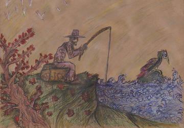 [Tranquility]Fishing by GilgaPhoenixIgnis