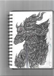 [Sketchbook]Shadow King by GilgaPhoenixIgnis