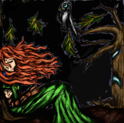[Fantasy] Elfic Slumber by GilgaPhoenixIgnis