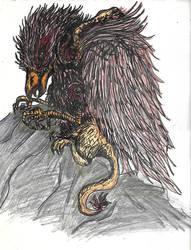 [Fantasy] Griffon by GilgaPhoenixIgnis