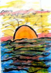 [Carnet Insta] Sunset by GilgaPhoenixIgnis