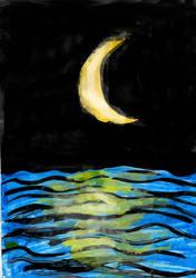 [Carnet Insta] Moonlight by GilgaPhoenixIgnis