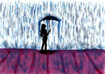 [ Carnet insta] Rain by GilgaPhoenixIgnis