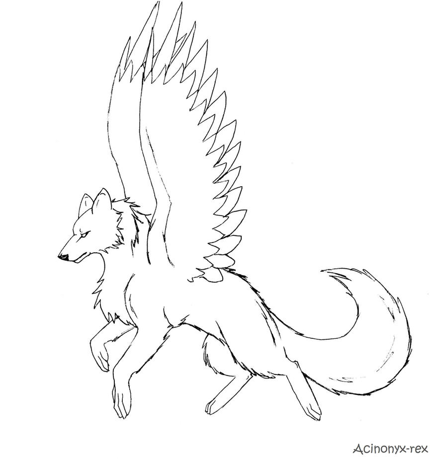Anime Wolves Coloring Pages Freecoloring4u Com Anime Wolf Coloring Page