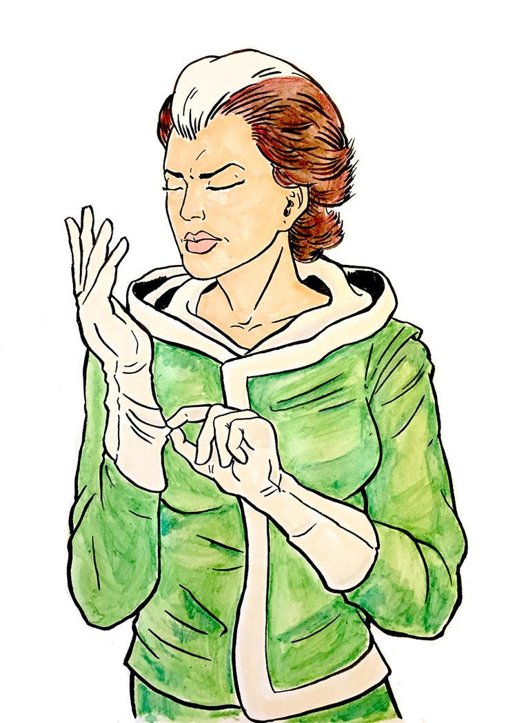 Rogue Watercolor by AtelierLambert