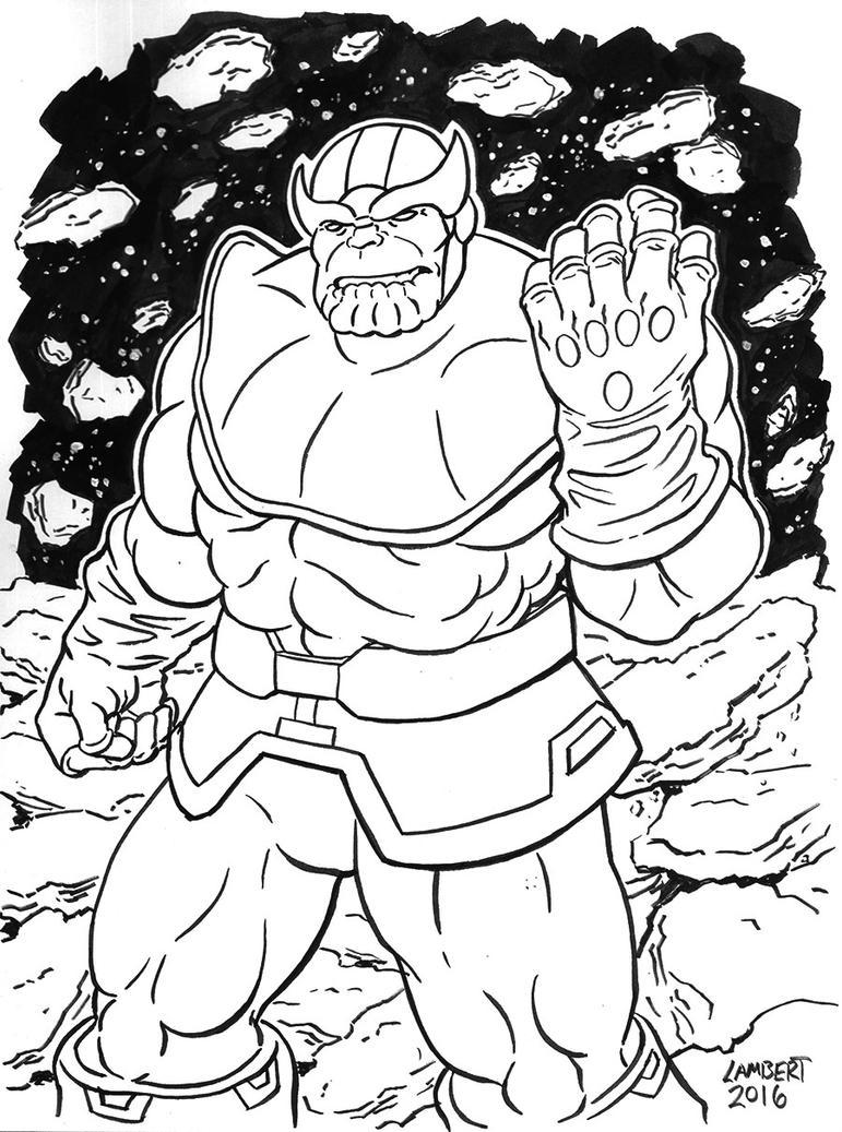 Thanos by AtelierLambert