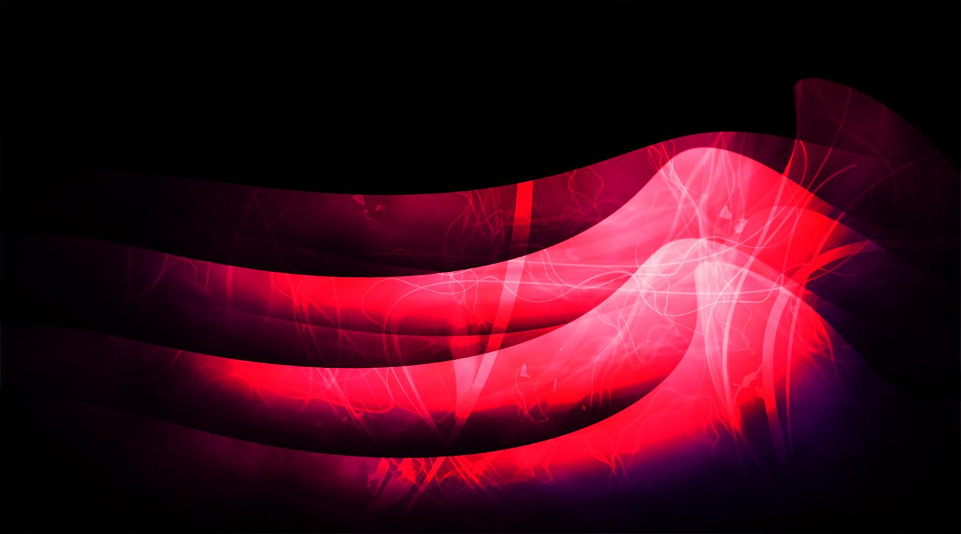Abstract waves wallpaper