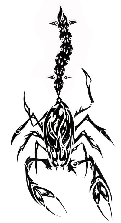 Tattoo Tribal Scorpion