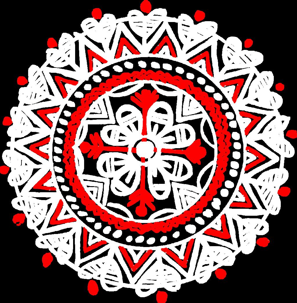 White And Red Naksha Design By Raqib09 On Deviantart