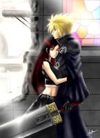 Final Fantasy VII: I'm here by eronzki999