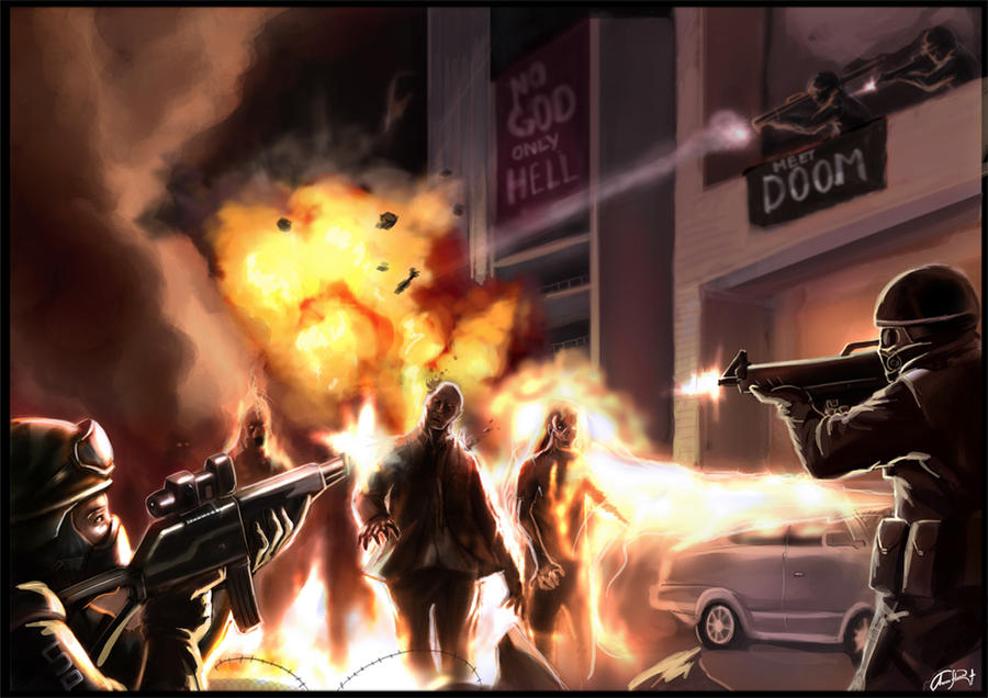 Zombie revenge by eronzki999