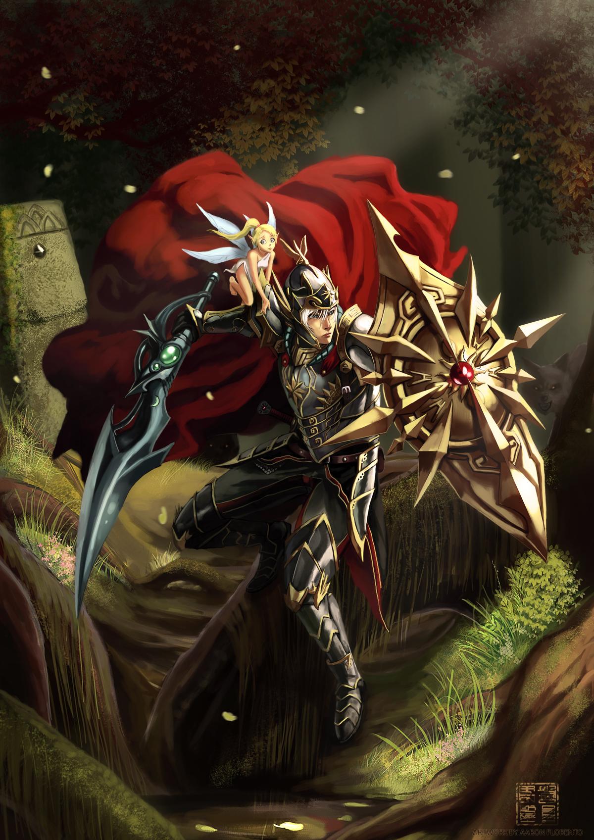 FEZ contest: Warrior and Fairy by eronzki999
