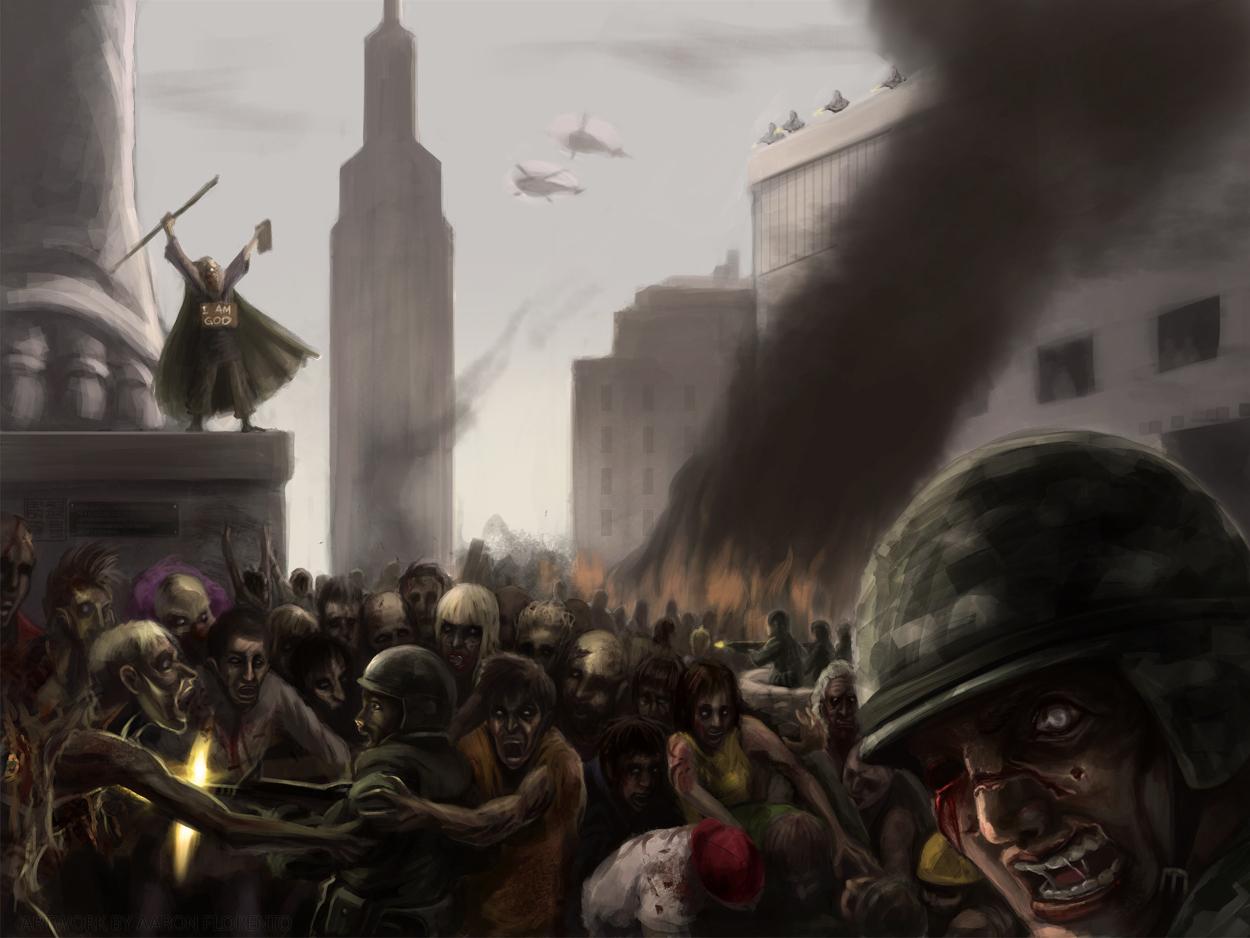 Zombie attack by eronzki999