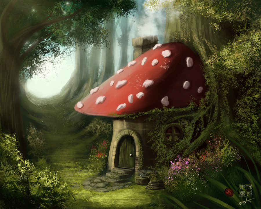 Forest house by eronzki999
