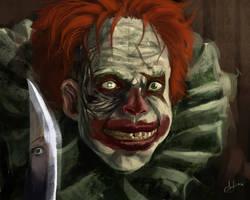 Evil Clown by eronzki999