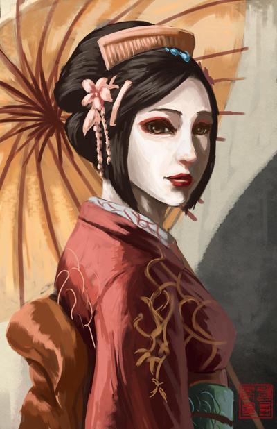 Geisha by eronzki999