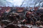 Barbaric War by eronzki999