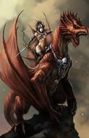 Dragon Rider by eronzki999